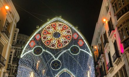 A Sky Full of Stars Over Calle Larios (well, of LEDs in fact)